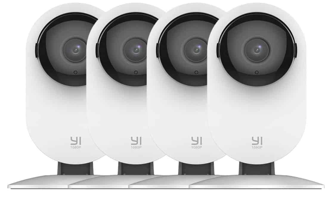 YI 4pc - best 4k security camera system