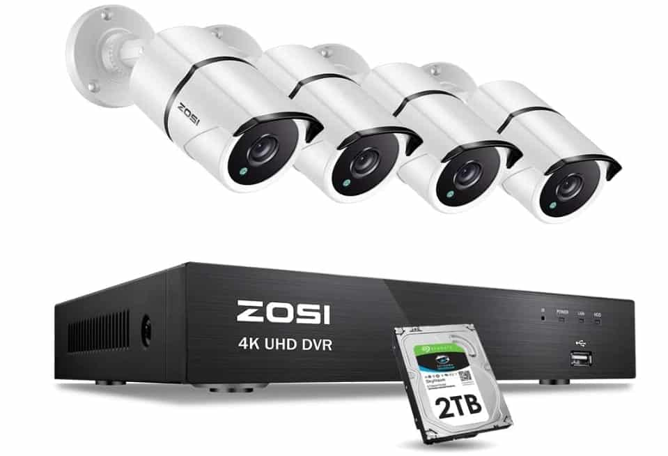 ZOSI 4K - best 4k security camera system