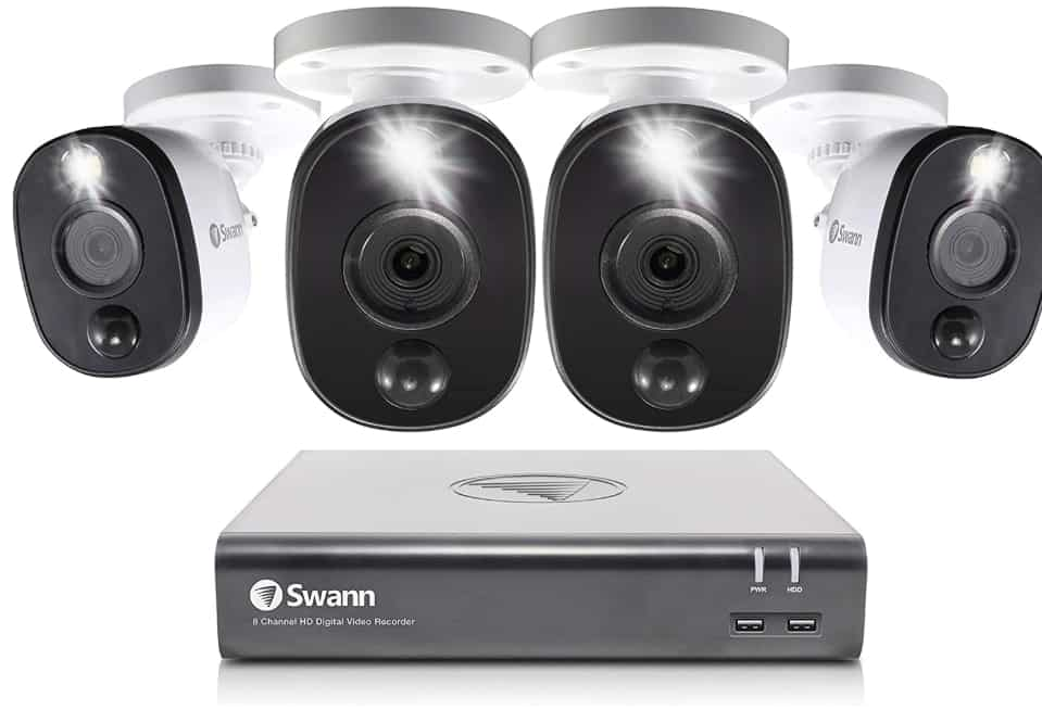 Swann 8 - best 4k security camera system