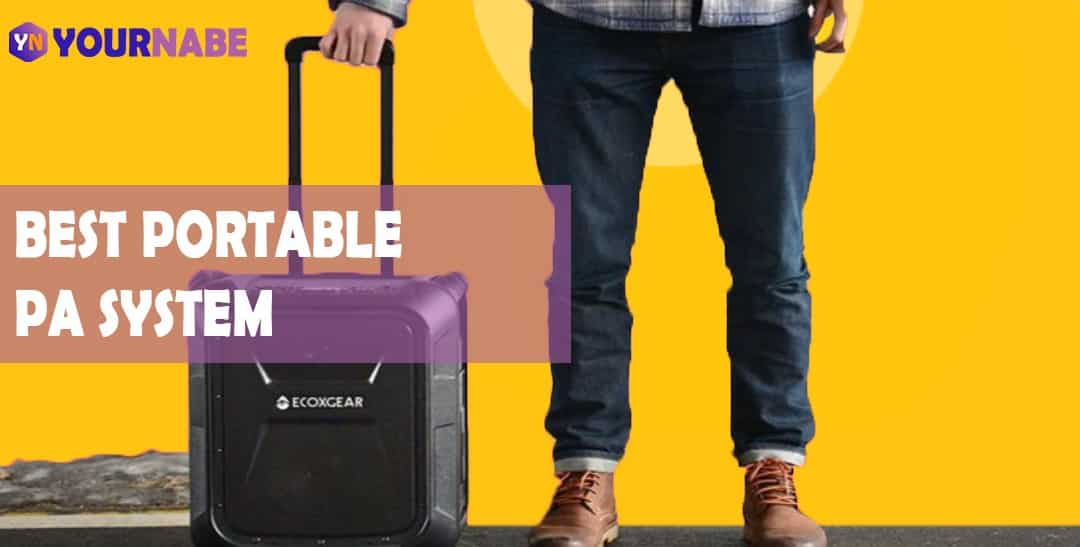 best portable pa system