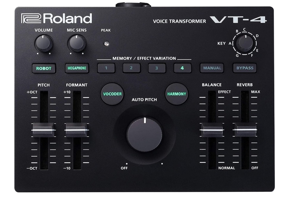 ROLAND VT-4 - BEST VOCAL PROCESSOR