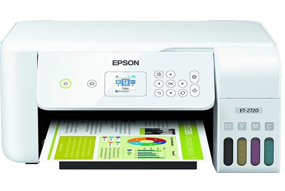 EPSON ECOTANK ET-2720 - BEST WIRELESS PRINTER FOR MAC