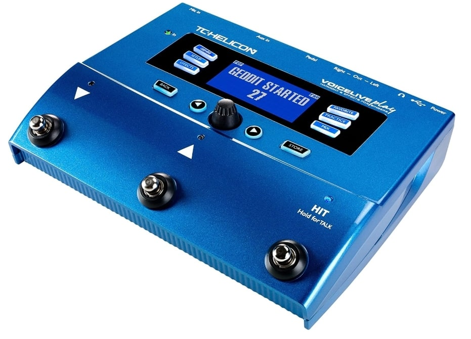 TC HELICON  - BEST VOCAL PROCESSOR