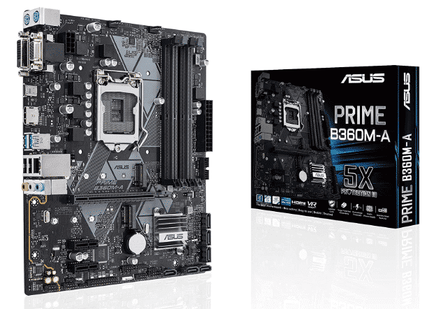 ASUS PRIME B-360M-A - BEST AM3+ MOTHERBOARD