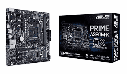ASUS PRIME A320M-K - BEST AM3+ MOTHERBOARD