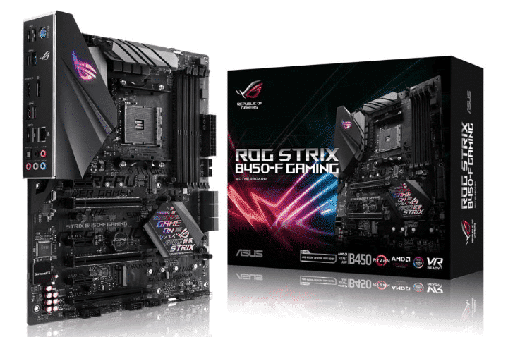 ASUS ROG STRIX B450-F - BEST AM3+ MOTHERBOARD