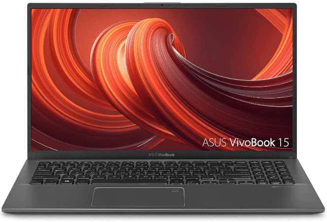 ASUS VivoBook 15 - best laptops under 600 with ssd