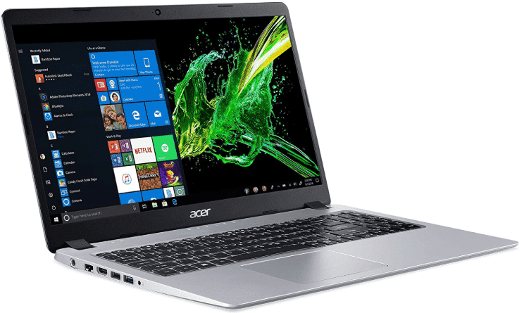 Acer Aspire 5 - best laptops under 600 with ssd
