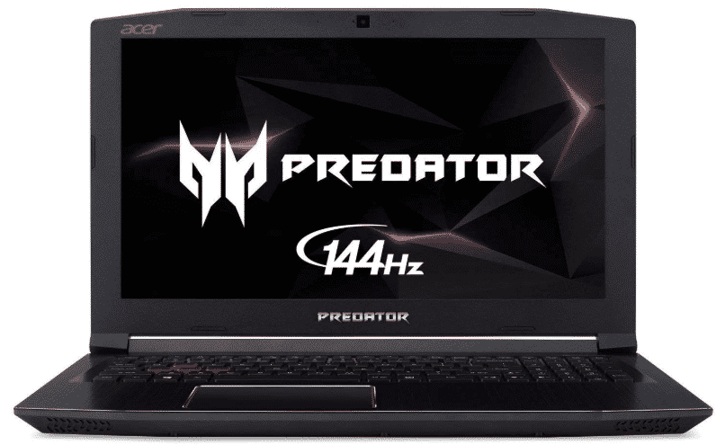 Acer Predator - best laptop for animation