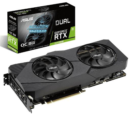Asus GeForce RTX 2070 Super - best rtx 2070 super