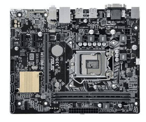 ASUS H110M-K - best motherboard for i5 8400