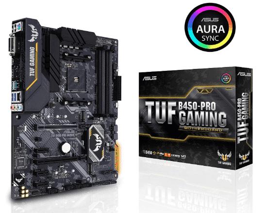 ASUS TUF - best B450 motherboard