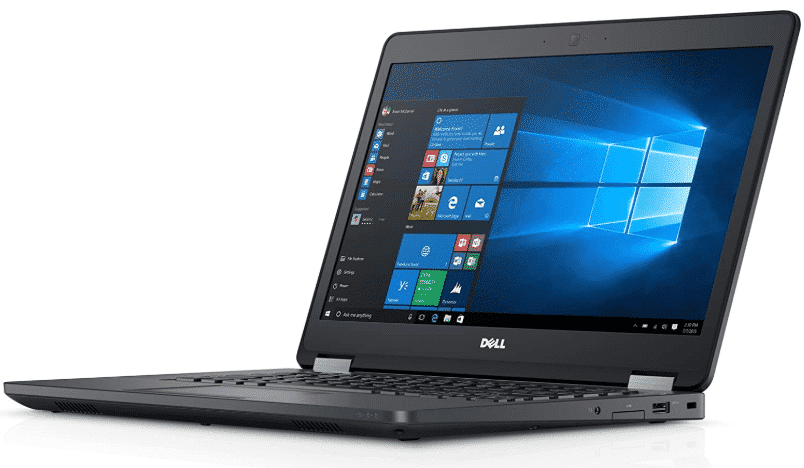 Dell Latitude E5470 HD  - best laptops under 600 with ssd