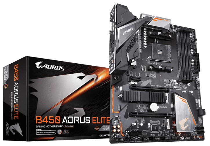 GIGABYTE B450 - best motherboard for amd ryzen 7 2700x