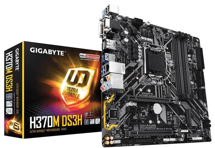 GIGABYTE H370M - best motherboard for i5 8400