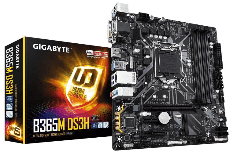 GIGABYTE B365M - BEST AM3+ MOTHERBOARD