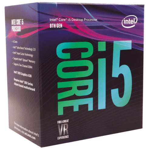 INTEL CORE I5 - best CPU for video editing