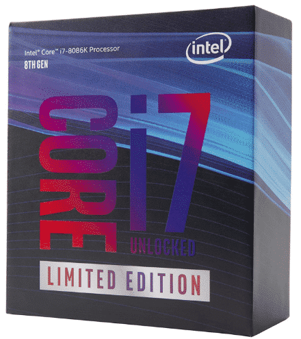 INTEL CORE - best CPU for video editing