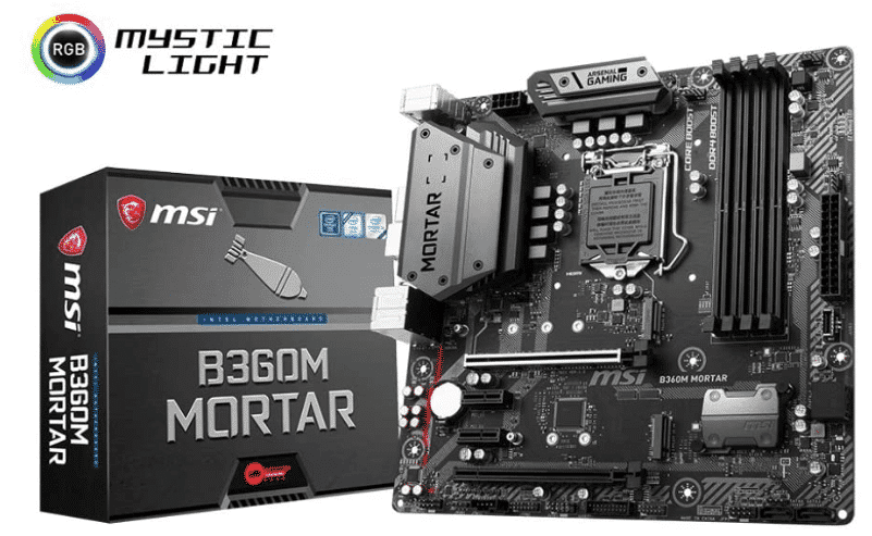 MSI ARSENAL - best motherboard for i5 8400