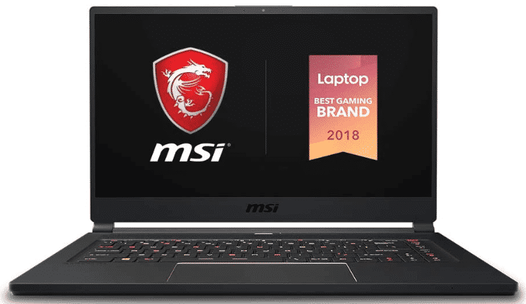 MSI GS65 - best laptop for autocad