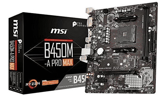 MSI B450-A PRO - BEST AM3+ MOTHERBOARD