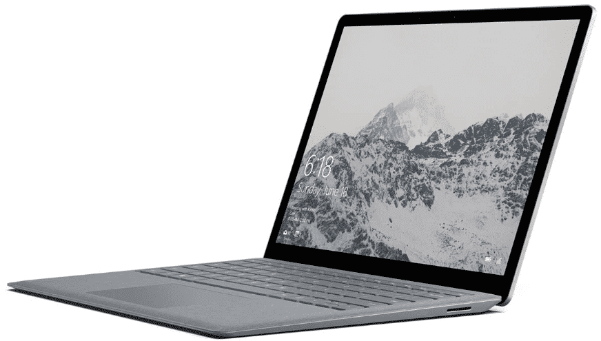 Microsoft Surface Laptop - best laptops under 600 with ssd