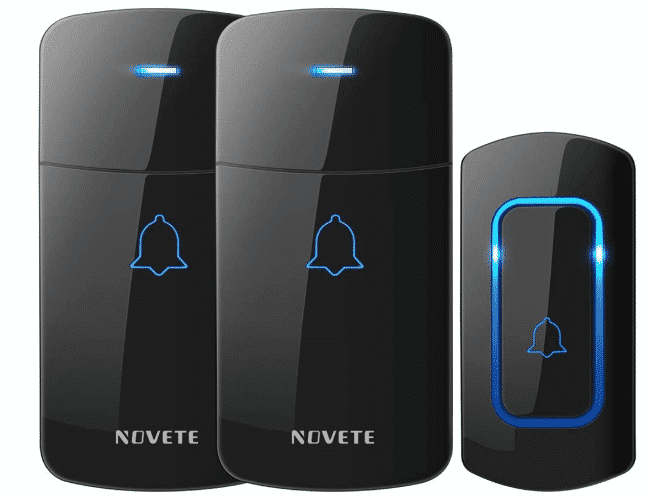 NOVETE LONG RANGE  - BEST WIRELESS DOORBELL