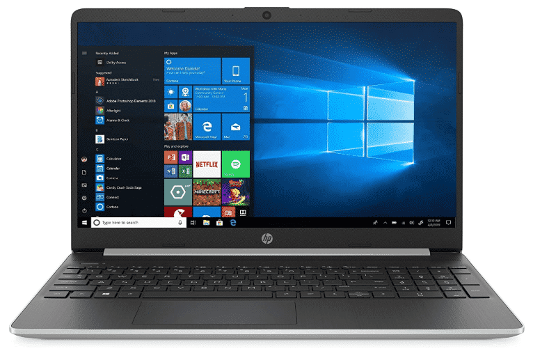 New HP 15.6 - best laptops under 600 with ssd