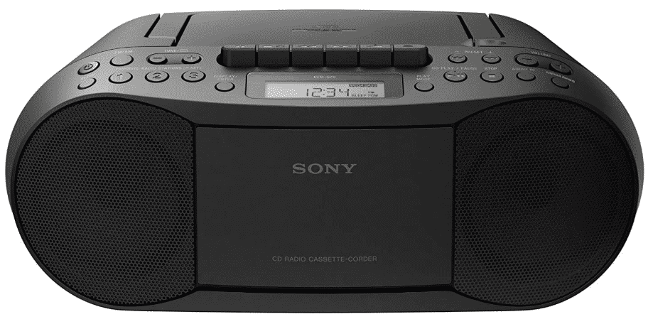 SONY CFDS70-BLK - BEST BOOMBOX