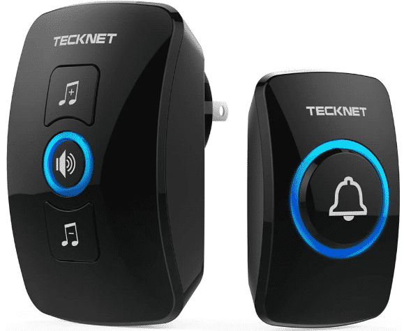 TECKNET WA658 - BEST WIRELESS DOORBELL