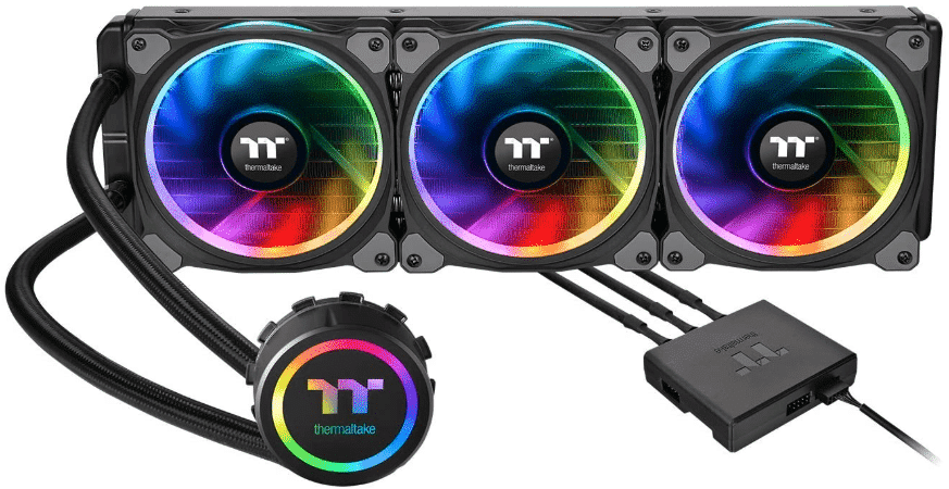 THERMALTAKE FLOE - best CPU cooler for i9 9900k