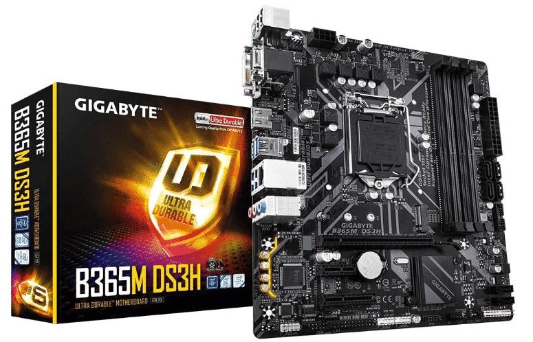 GIGABYTE B365M - best motherboard for i5 8400