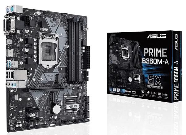 ASUS LGA1151 - best motherboard for i5 8400