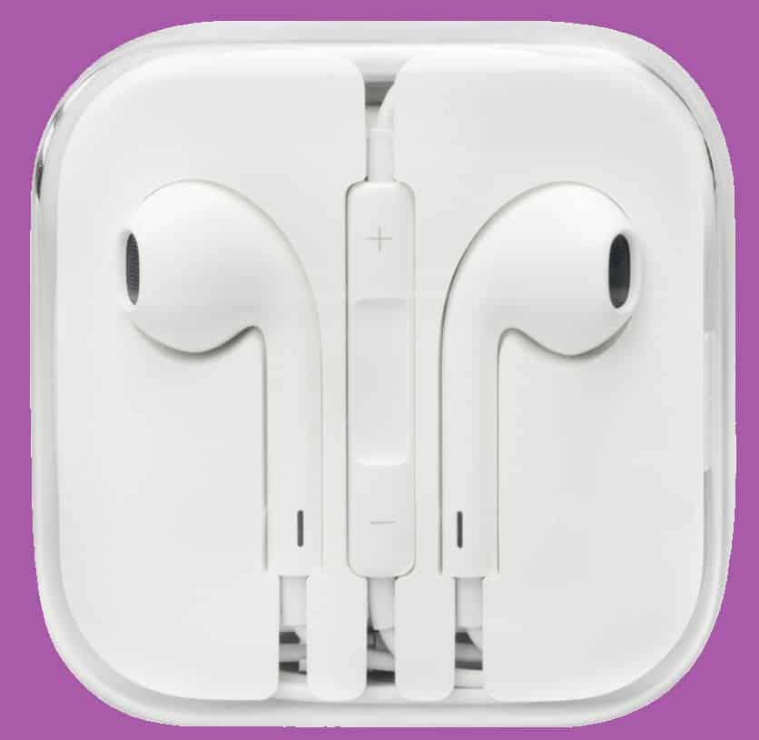 use apple earbuds as mic on pc