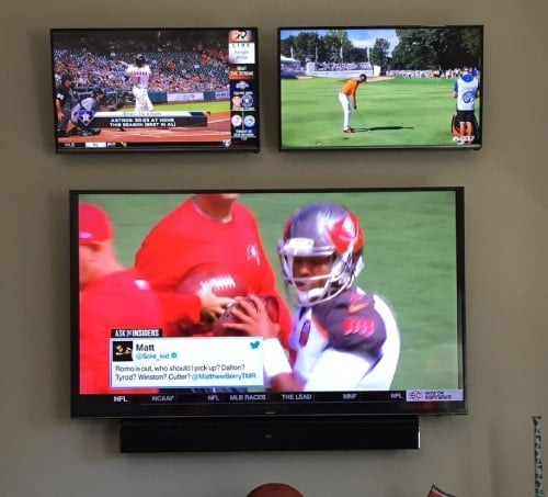 how to connect multiple TVs to one antenna