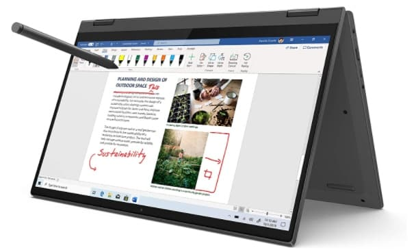 LENOVO FLEX - best laptop for animation
