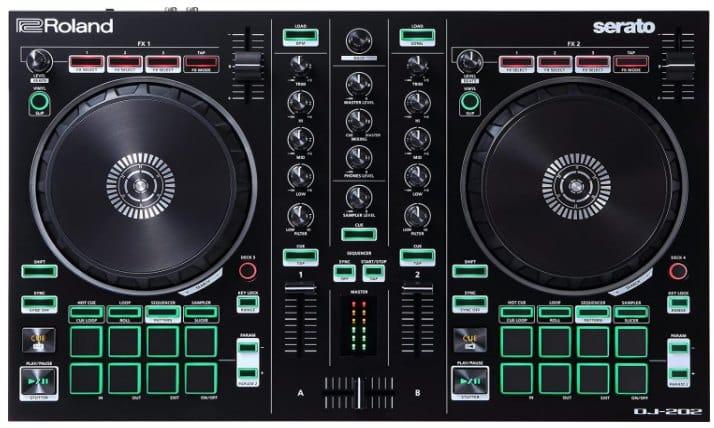 ROLAND DJ-202 - best DJ controller for beginners