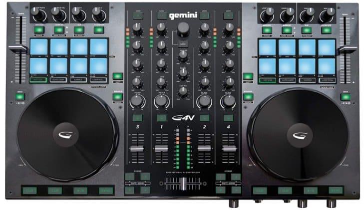GEMINI GV SERIES G4V - best DJ controller for beginners