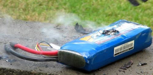 how to dispose of LIPO batteries