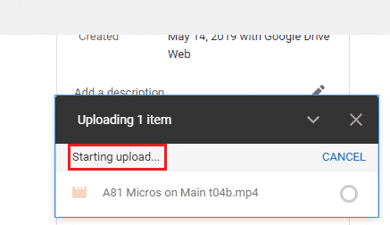 How Long Does It Take To Process A Video On Google Drive
