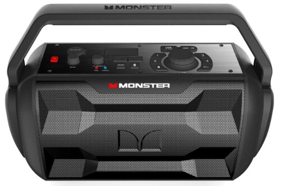 Monster Nomad - best Bluetooth speaker for outdoor party