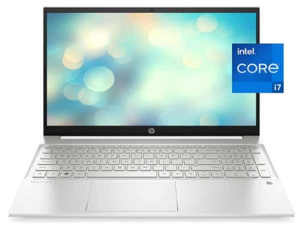 HP Pavilion 15  - best laptop with numeric keypad