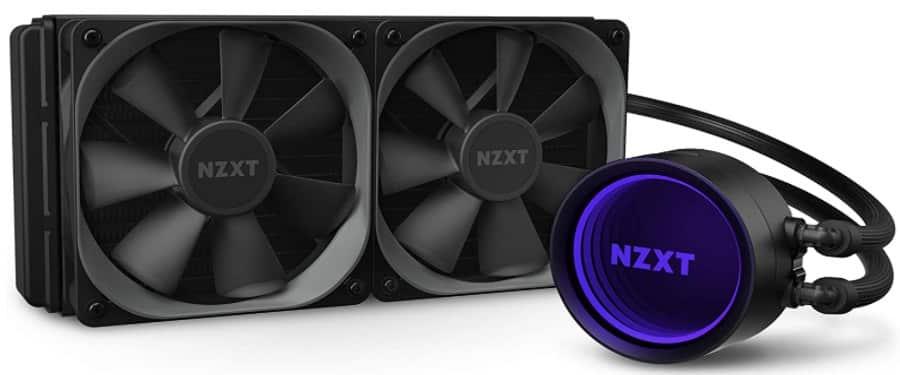 NZXT Kraken X53 - best AIO cooler for 8700k