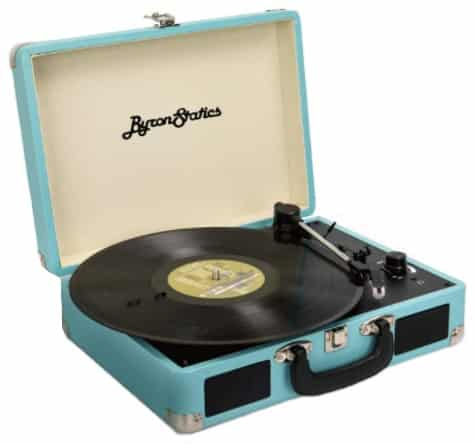 Byron Statics - best portable record player