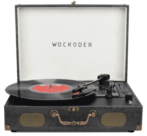 WOCKODER - best portable record player