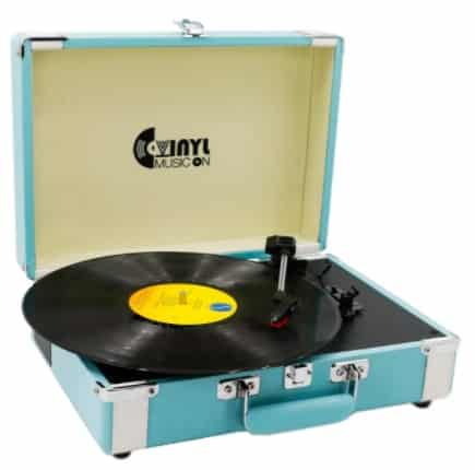 VInYL MUSIC ON - best portable record player