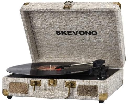 SKEVONO - best portable record player