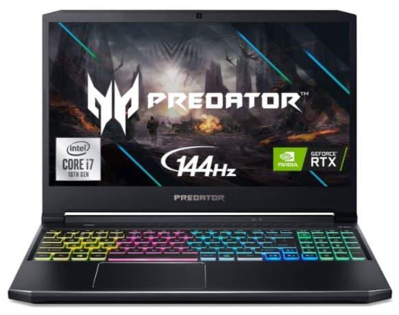 Acer Predator - best gaming laptop under 2000