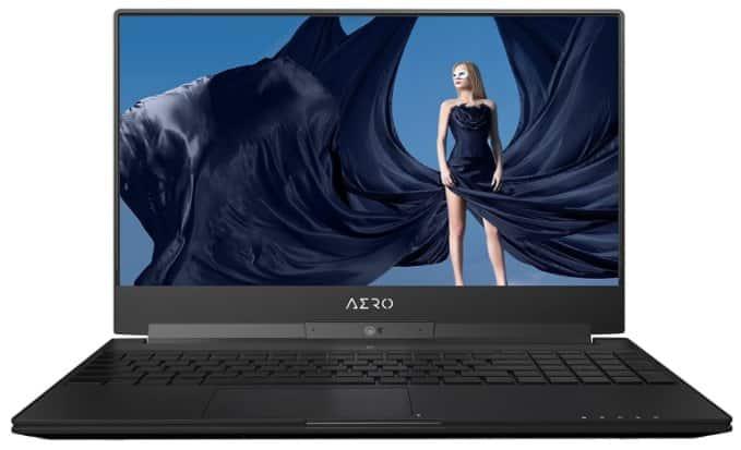 GIGABYTE Aero - best gaming laptop under 2000