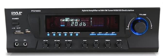 PyleHome PT270AIU - best stereo amplifier under 1000